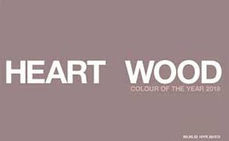 heart wood flexa kleur van het jaar 2018